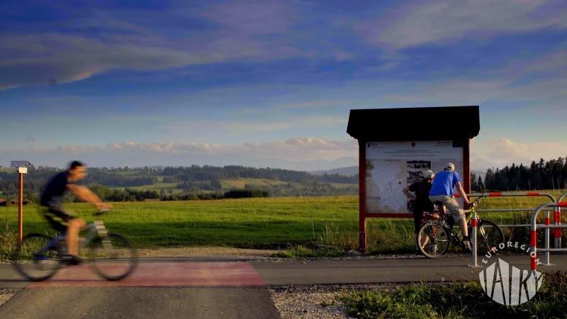 Film promujący Szlak rowerowy wokół Tatr