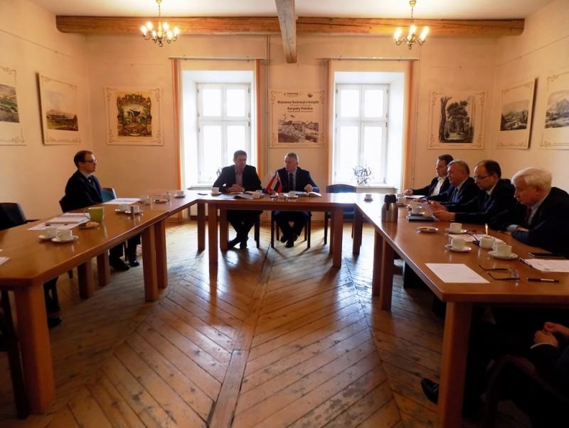 """Pierwsze posiedzenie nowo wybranej Rady Związku Euroregion """"Tatry"""""""