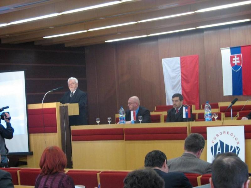 """XII Kongres Transgranicznego Związku Euroregion """"Tatry"""""""