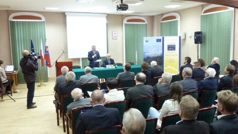 Konferencja inaugurująca Europejskie Ugrupowanie Współpracy Terytorialnej TATRY