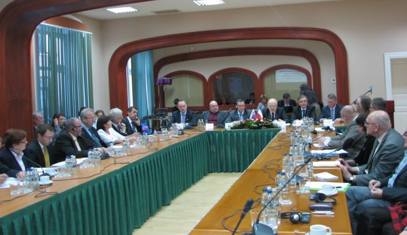 XIX posiedzenie Polsko-Słowackiej Komisji Międzyrządowej ds. Współpracy Transgranicznej