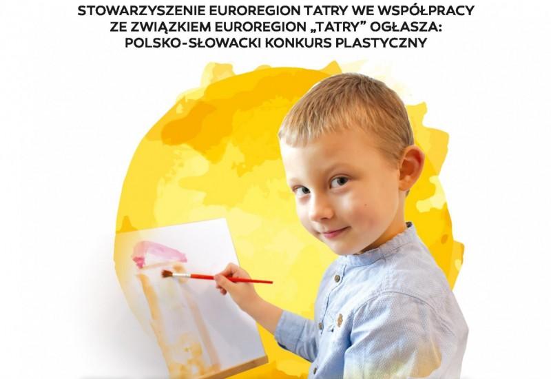 """Konkurs plastyczny pt. """"Euroregion Tatry oczami dzieci""""."""