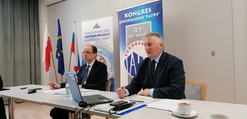 """Obrady XXVII Kongresu Związku Euroregion """"Tatry"""""""