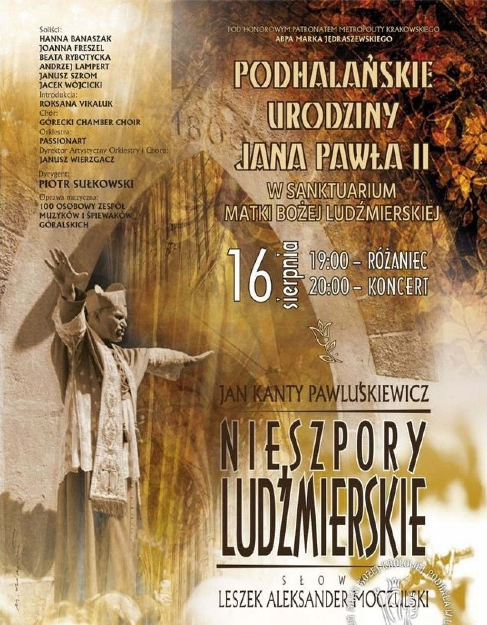 Oratorium Nieszpory Ludźmierskie