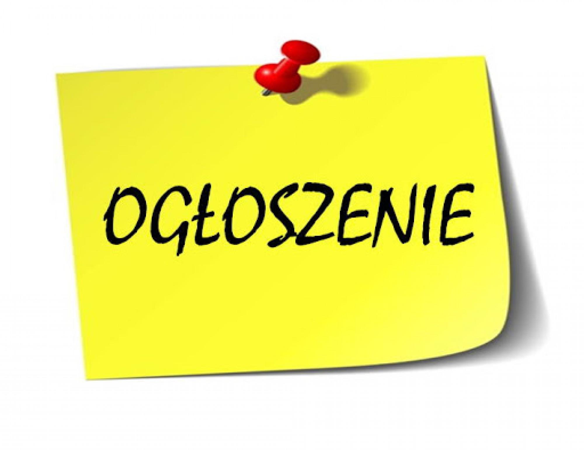 """W dniu 12 czerwca 2020 r. biuro Związku Euroregion """"Tatry"""" będzie nieczynne."""