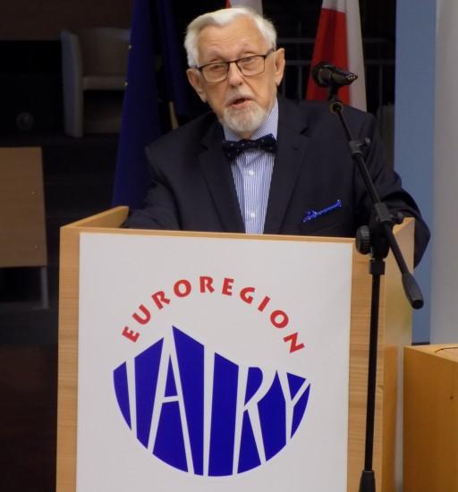 """Zmarł Wendelin Haber Honorowy Prezes Euroregionu """"Tatry"""""""